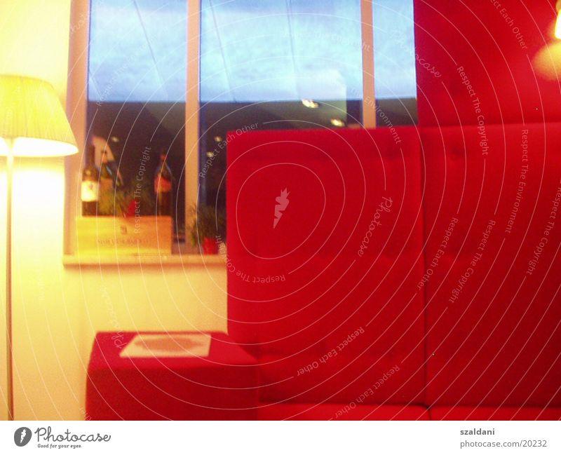 lounge rot ruhig Architektur Restaurant Foyer Lokal