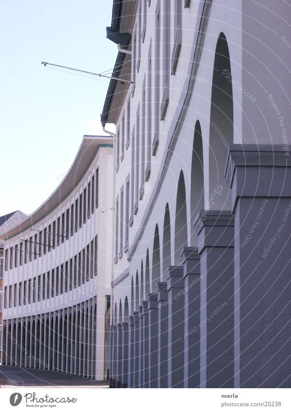 Arkaden Architektur Säule Bogen Halbkreis Schlossplatz