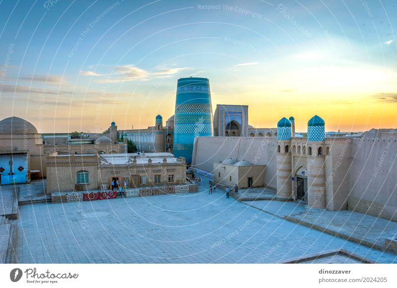 Altstadt von Chiwa, Usbekistan Stil Design Tourismus Dekoration & Verzierung Kunst Stadt Architektur Ornament alt groß Farbe Religion & Glaube Tradition Khiva