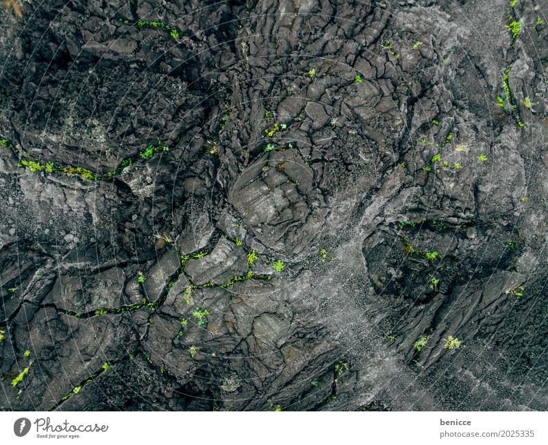 Batur Bali Vulkan Asche Luftaufnahme Vogelperspektive Drohne schwarz Erde Lava Wege & Pfade Asien Bali Natur Landschaft Menschenleer Unbewohnt Indonesien