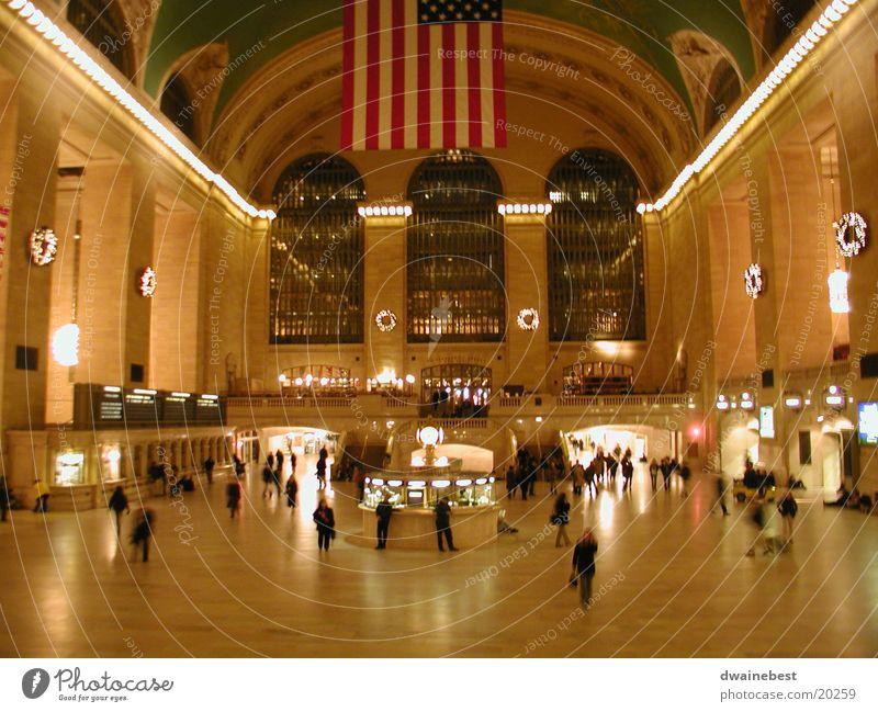 Grand Central Architektur 9:00 pm December