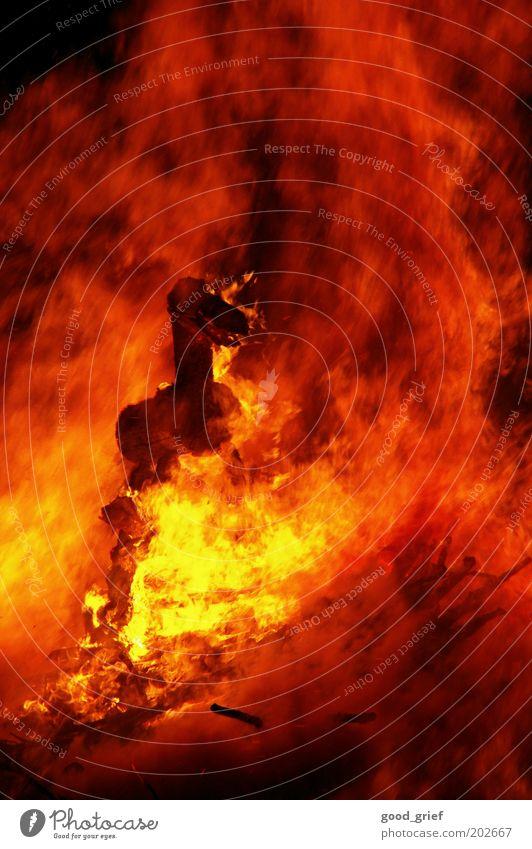 feuer frei rot schwarz Tier gelb Gefühle Holz Angst Brand Feuer Pferd Warmherzigkeit Rauch brennen Urelemente Holzbrett Flamme