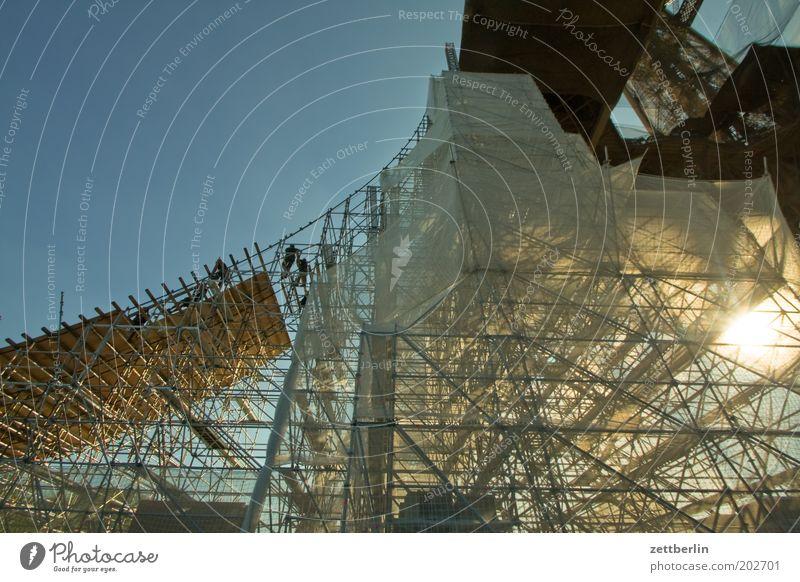 Eiffelturm Baustelle Turm Paris Stahl Frankreich Wahrzeichen Konstruktion Eisen Baugerüst Sehenswürdigkeit Gerüst Techniker Beruf Ingenieur Tour d'Eiffel