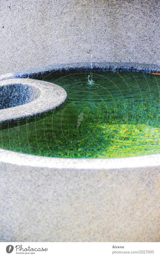 Wandel und Wiederkehr grün Wasser ruhig Religion & Glaube Zeichen Urelemente Unendlichkeit Brunnen harmonisch rein Meditation türkis Flüssigkeit exotisch