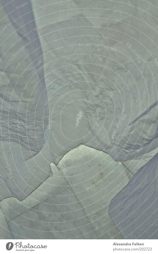 Gardine ästhetisch Marmorboden Tüll Stoff Falte knittern luftig kalt Schutz durchsichtig Außenaufnahme Menschenleer Vorhang Tag