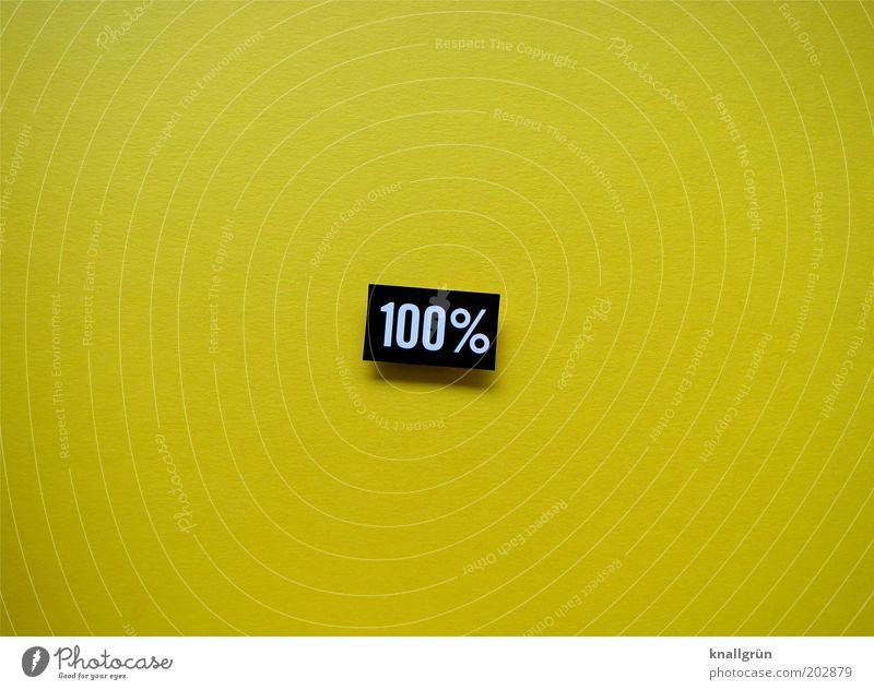 100% gelb Schriftzeichen Ziffern & Zahlen rein Zeichen Hinweisschild Kreativität graphisch Genauigkeit Präzision Inspiration Maßeinheit Einstellungen Physik
