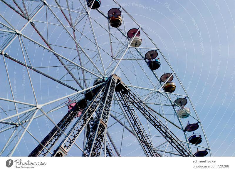 Riesenrad Himmel hoch Luftverkehr Freizeit & Hobby