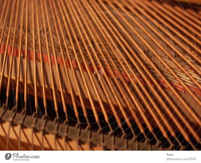 Klaviersaiten Technik & Technologie Flügel Klavier Charakter Saite Musikinstrument Elektrisches Gerät