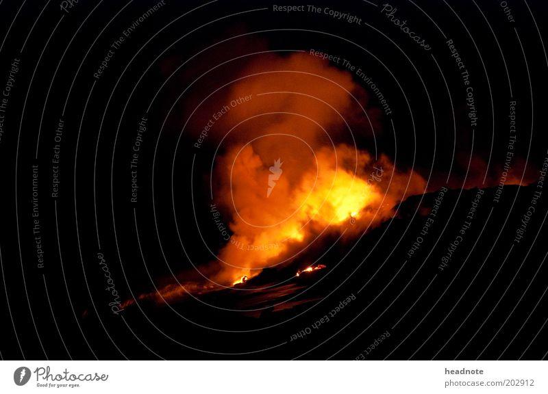Into the Ocean Ferien & Urlaub & Reisen Ausflug Ferne Sightseeing Expedition Meer Insel Umwelt Natur Urelemente Feuer Wasser Vulkan Lava Kilauea Küste entdecken