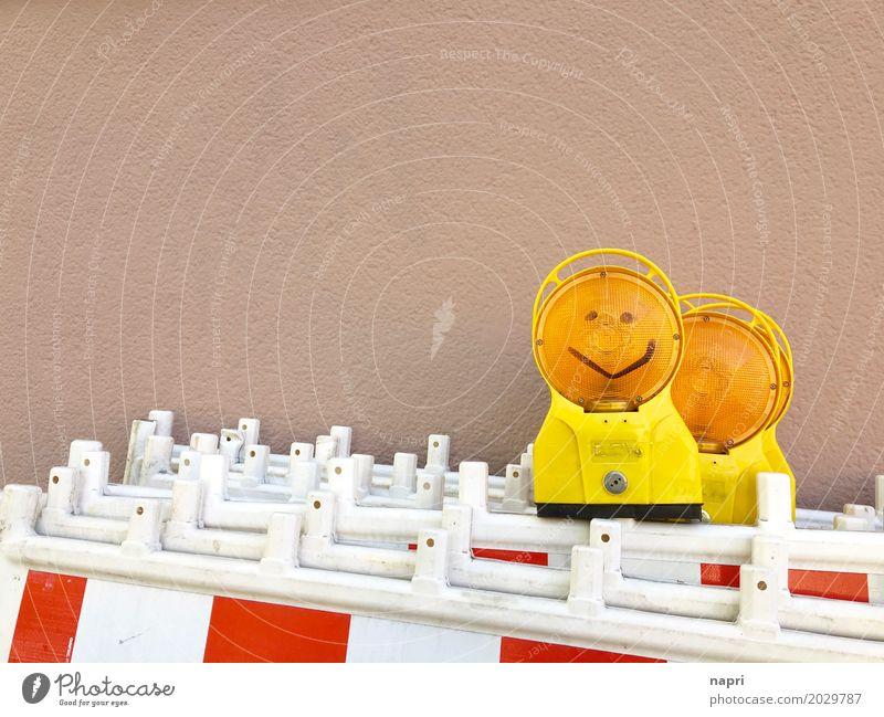 Feierabend Freude Arbeit & Erwerbstätigkeit Zufriedenheit Kommunizieren Lächeln Fröhlichkeit einfach Freundlichkeit Baustelle Teamwork positiv Arbeitsplatz