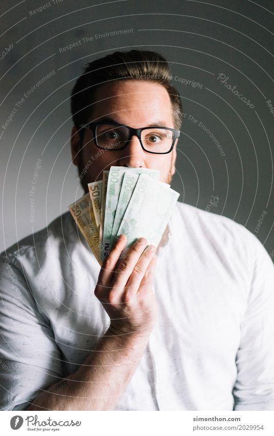 Money Reichtum Glück Geld sparen Berufsausbildung Azubi Praktikum Business Unternehmen Karriere Erfolg maskulin Kapitalwirtschaft geheimnisvoll Identität Handel