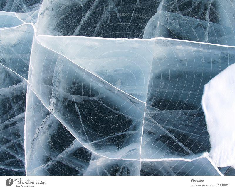 EIS BAIKAL Winter Natur Urelemente Eis Frost See Baikalsee Kristalle frieren ästhetisch authentisch kalt Originalität blau weiß Kraft standhaft Reinheit rein