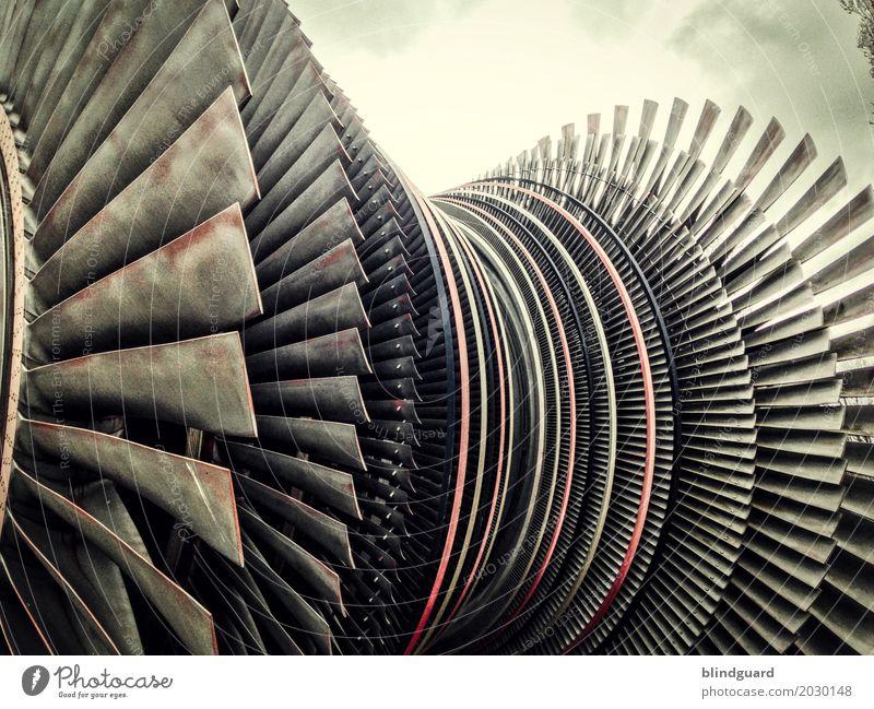 Power alt Umwelt Design Energiewirtschaft Technik & Technologie Kraft groß Industrie trashig Unternehmen Maschine Leistung Endzeitstimmung Kernkraftwerk
