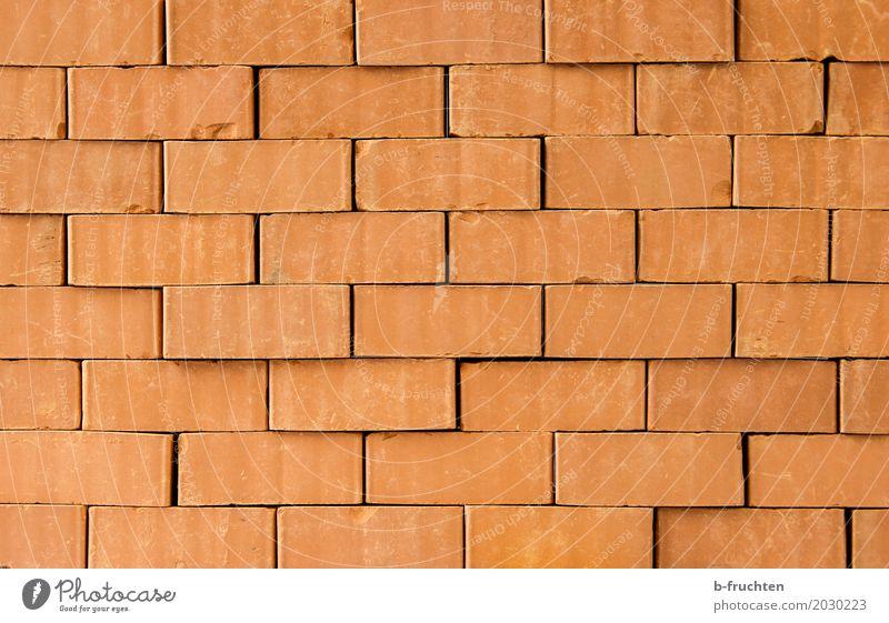 Sackgasse Mauer Wand braun rot Platzangst Backstein Hintergrundbild Strukturen & Formen Stein Spielfigur blockieren festhalten Justizvollzugsanstalt Barriere
