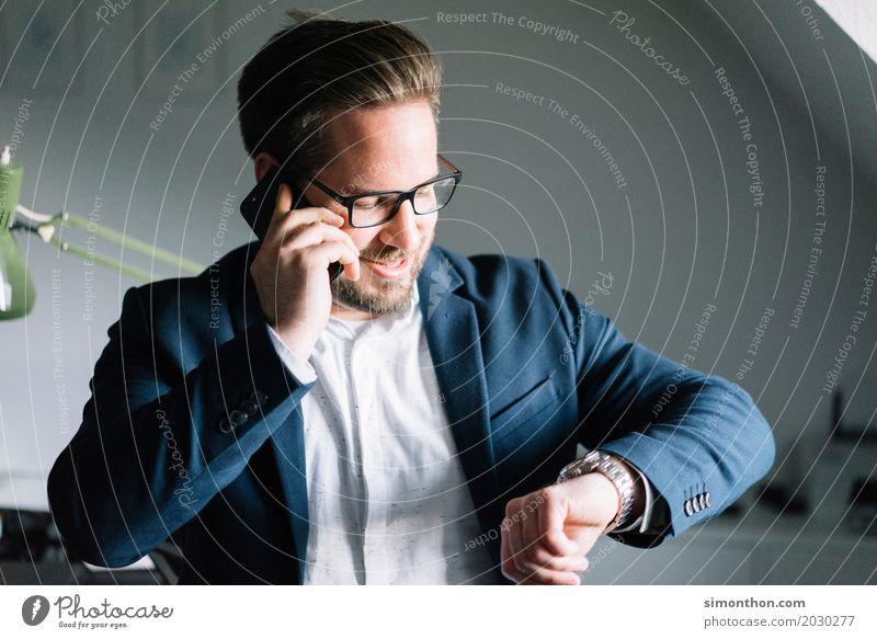 Business Mensch Freude Lifestyle sprechen Stil Glück Business Zeit maskulin elegant Erfolg Zukunft Wandel & Veränderung planen Geld Ziel