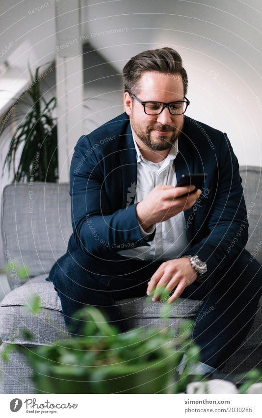 Digital Lifestyle Reichtum elegant Stil Glück Häusliches Leben Business Karriere Erfolg sprechen Team Feierabend PDA Technik & Technologie Telekommunikation