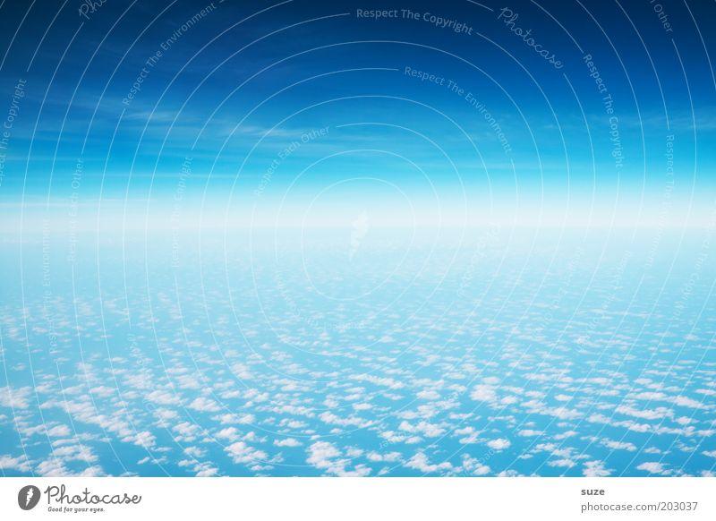*700* Space Natur Himmel blau Wolken Landschaft Luft Erde Umwelt fliegen frei Horizont Klima Unendlichkeit leuchten Weltall Schweben