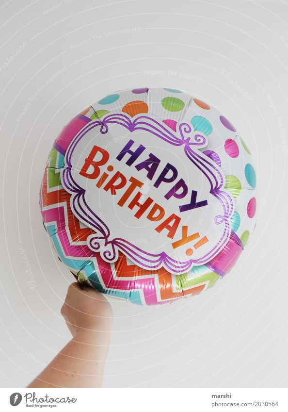 HAPPY BIRTHDAY alt Freude Gefühle Glück Party Feste & Feiern Stimmung Geburtstag Fröhlichkeit Lebensfreude Geschenk Hinweisschild Zeichen Postkarte Vorfreude