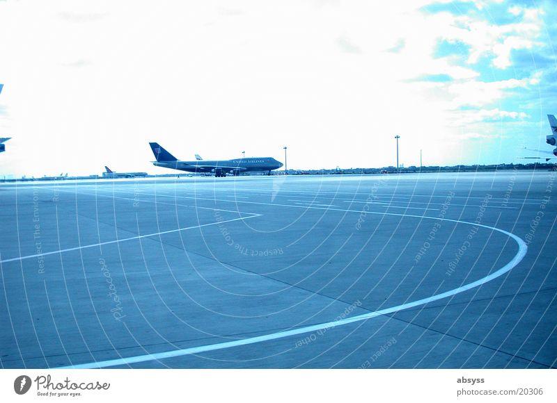 Weitsicht Luftverkehr