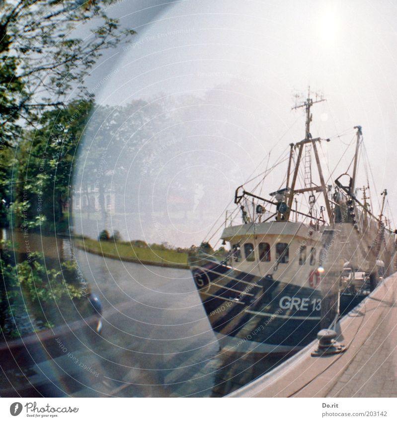maritim Meer Wasserfahrzeug Fischereiwirtschaft Fischereihafen Küste Verkehrswege Schifffahrt Bootsfahrt Fischerboot Segelboot Segelschiff Hafen Krabbenkutter