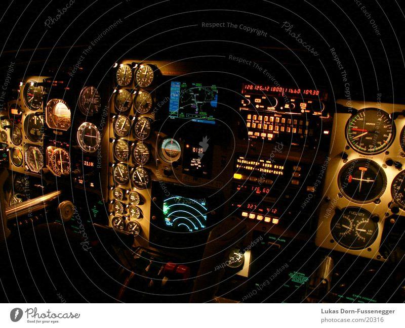 Cockpit Flugzeug Luftverkehr Technik & Technologie Niveau Musikinstrument