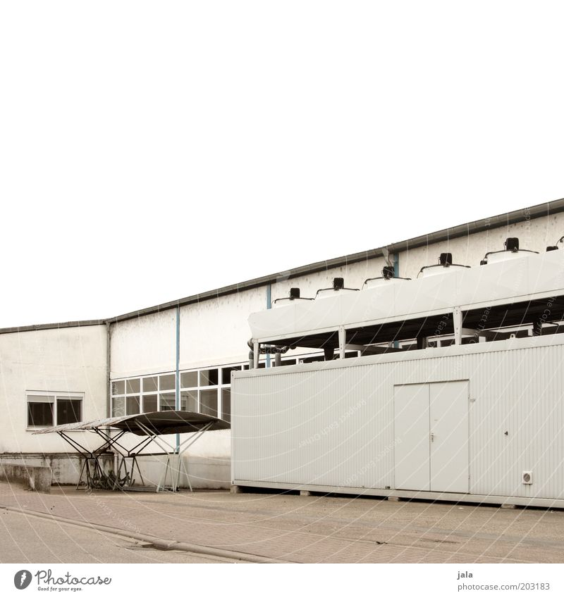feierabend Fabrik Industrie Handel Unternehmen Himmel Haus Industrieanlage Bauwerk Gebäude trist industriell Industriefotografie Farbfoto Außenaufnahme