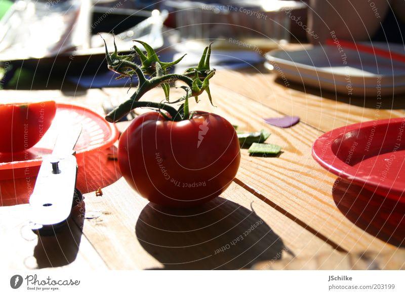 picknick season Ferien & Urlaub & Reisen Sommer Holz Ernährung Lebensmittel Ausflug Tisch einfach Gemüse Geschirr lecker Camping Sommerurlaub Teller Bioprodukte