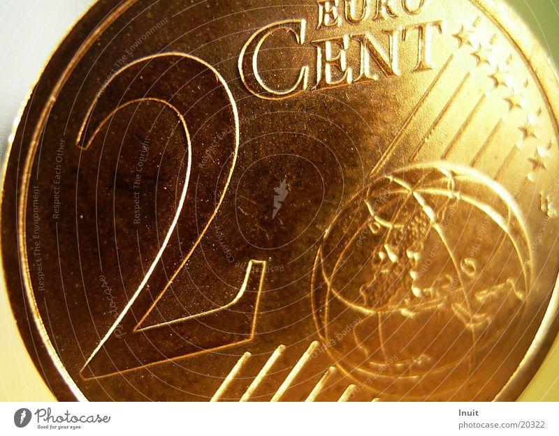 Cent Geld Geldmünzen Euro