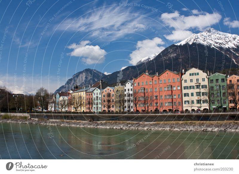 schön Stadt Haus Wärme Europa Kitsch einzigartig Österreich Hauptstadt Sehenswürdigkeit Gebäude Innsbruck