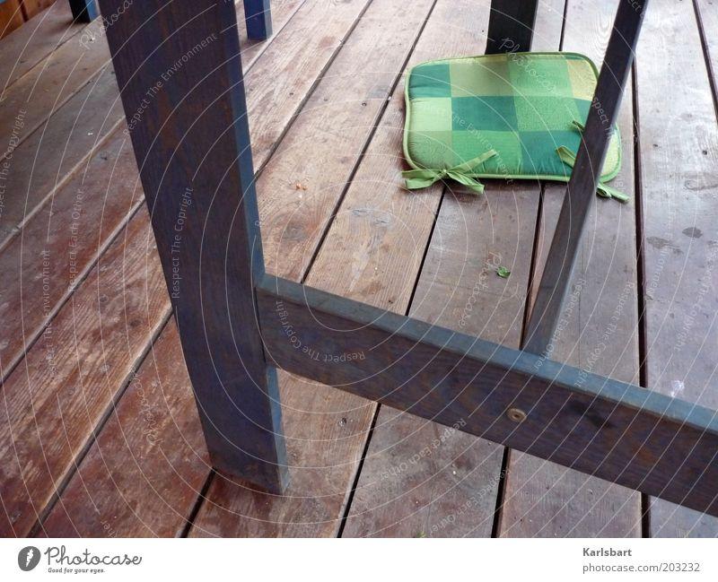 fluchtpunkt. Stil Terrasse Boden Dielenboden Linie Streifen Schleife liegen Holzfußboden Veranda runtergefallen Farbfoto mehrfarbig Außenaufnahme Detailaufnahme