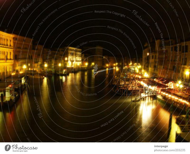 Venedig Modell Italien Sehenswürdigkeit Verkehrswege glänzend historisch klein gelb gold ästhetisch Ferien & Urlaub & Reisen Kultur Wege & Pfade Canal Grande