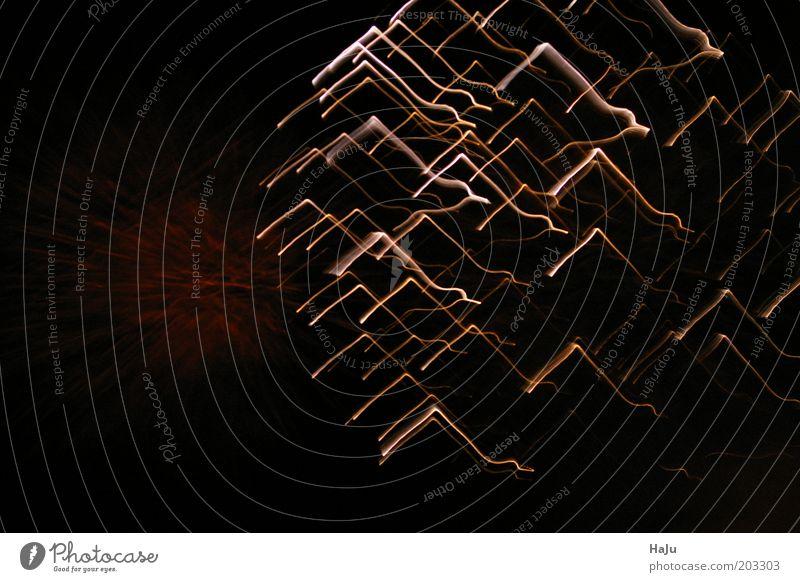Feuerwerk Nachtleben Silvester u. Neujahr Kunst Bewegung leuchten außergewöhnlich fantastisch Unendlichkeit Farbfoto Außenaufnahme Experiment abstrakt