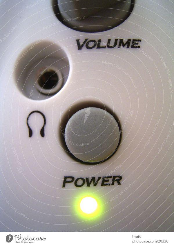 POWER! Lautsprecher HiFi grün Kopfhörer Entertainment