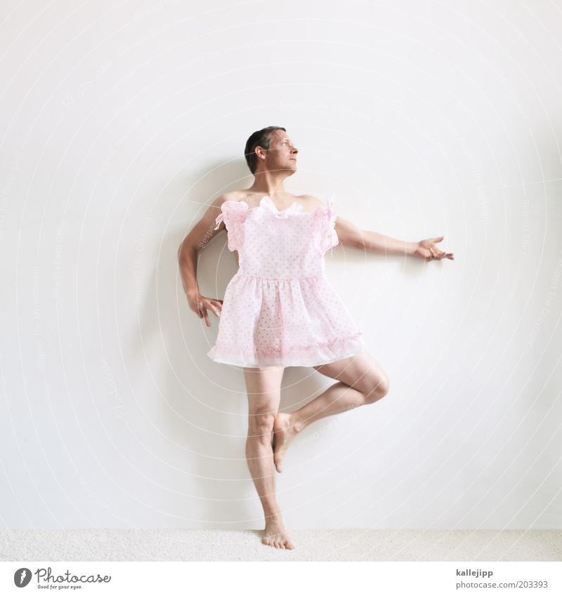 tänzchen Mensch Mann Hand Beine Tanzen Kunst Körper Mode Erwachsene Arme rosa maskulin elegant Bekleidung verrückt