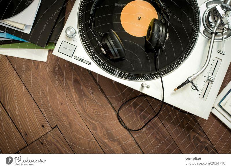 Music Erholung Haus Zeit Party Feste & Feiern retro Musik Technik & Technologie Tanzen Veranstaltung altehrwürdig Club Kopfhörer Disco Radiogerät Lautsprecher