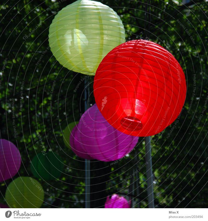 Jubilee Gardens Baum rot Sommer gelb Farbe Party Lampe Feste & Feiern rosa Laterne Dekoration & Verzierung hängen Lampion