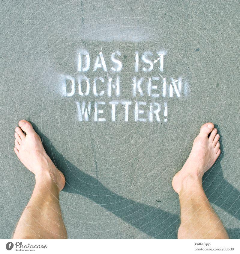 schreibfehler Mensch Mann Sommer Freude Leben Fuß Wärme Beine Graffiti Erwachsene maskulin Wetter Kommunizieren stehen Klima