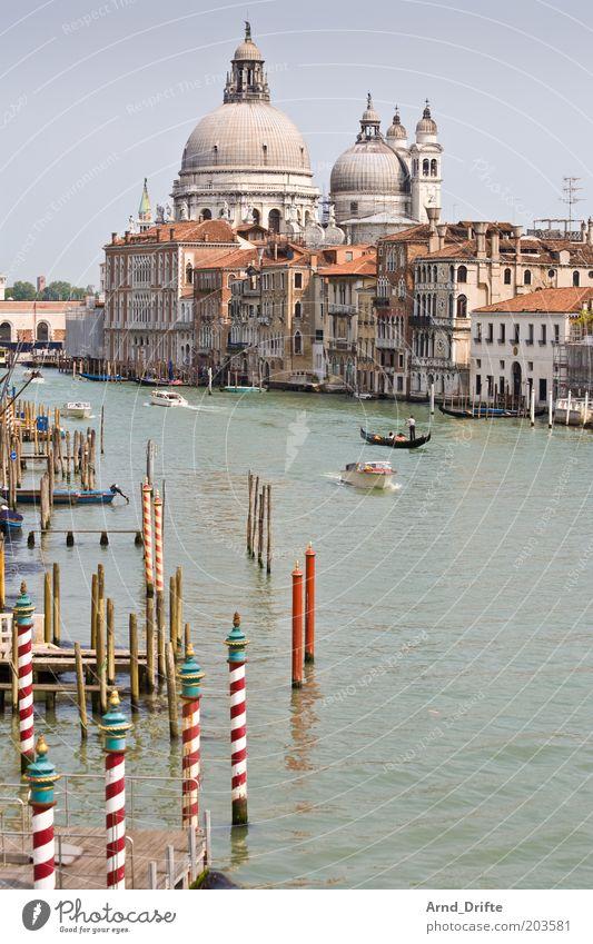 Canale Grande schön Leben Erholung Freizeit & Hobby Ausflug Ferne Wetter Bauwerk Gebäude Sehenswürdigkeit Bootsfahrt Fähre Wasserfahrzeug Bekanntheit Stimmung