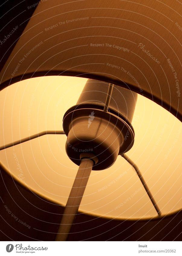 Lampenschirm Glühbirne Wohnzimmer Physik gemütlich Häusliches Leben Wärme Halterung