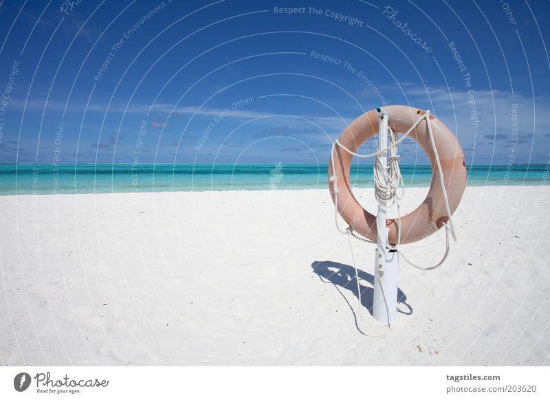 URLAUBSRETTUNG Natur Himmel Sonne Meer Strand Ferien & Urlaub & Reisen ruhig Einsamkeit Freiheit Sand Horizont Sicherheit Insel Reisefotografie Asien Idylle