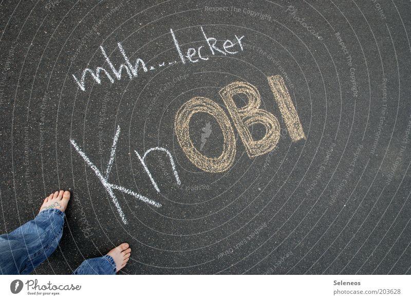 20 Prozent auf alles Freude Straße Graffiti Lebensmittel Wege & Pfade Beine Fuß lustig Schriftzeichen stehen Kommunizieren Jeanshose schreiben Kräuter & Gewürze