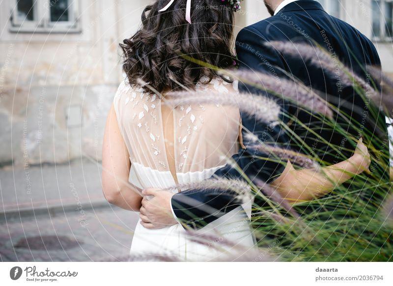 Paar und Natur Lifestyle Leben harmonisch Freizeit & Hobby Abenteuer Freiheit Veranstaltung ausgehen Feste & Feiern Hochzeit feminin Familie & Verwandtschaft