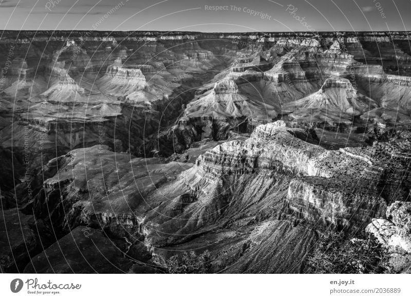 einschneidend Natur Ferien & Urlaub & Reisen Landschaft Ferne Zeit Tourismus Felsen USA fantastisch Abenteuer Klima Vergänglichkeit Wandel & Veränderung Amerika