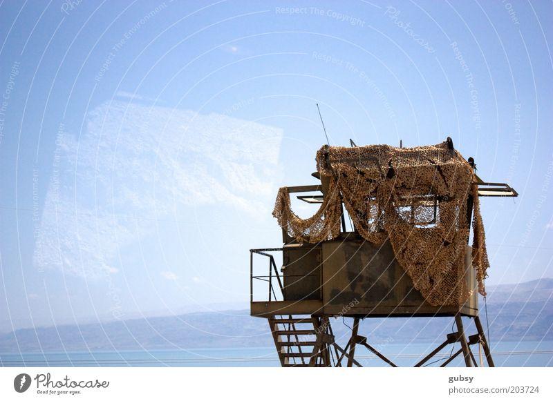 Meer Tod Berge u. Gebirge Krieg Militär Israel Armee Kontrast Busfahren Totes Meer