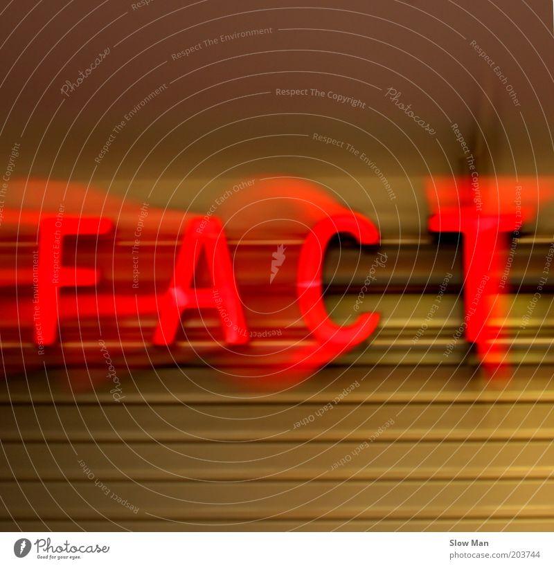 nur die FACT en / Fakten zählen... rot Stil Schlagwort authentisch Bildung leuchten Fernsehen Information Zeitung Medien Typographie Wort Radio Zeitschrift