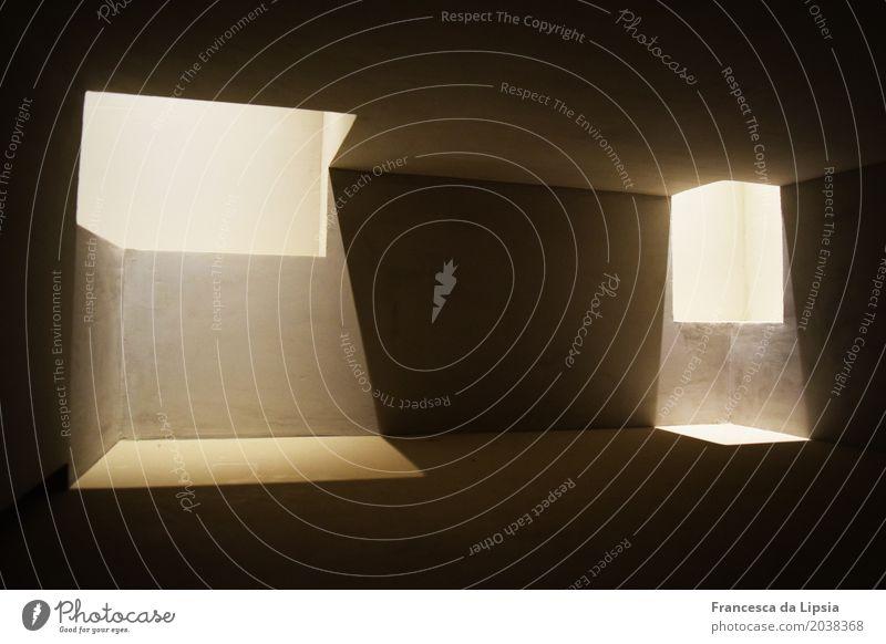 Light is Architecture Menschenleer Architektur Nachbildung Architekturmodell Museum Refugium Tempel Beton ästhetisch dunkel einfach kalt modern schwarz weiß