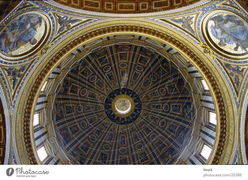 Petersdom Rom Italien Kuppeldach Vatikan Freizeit & Hobby Päpste Architektur