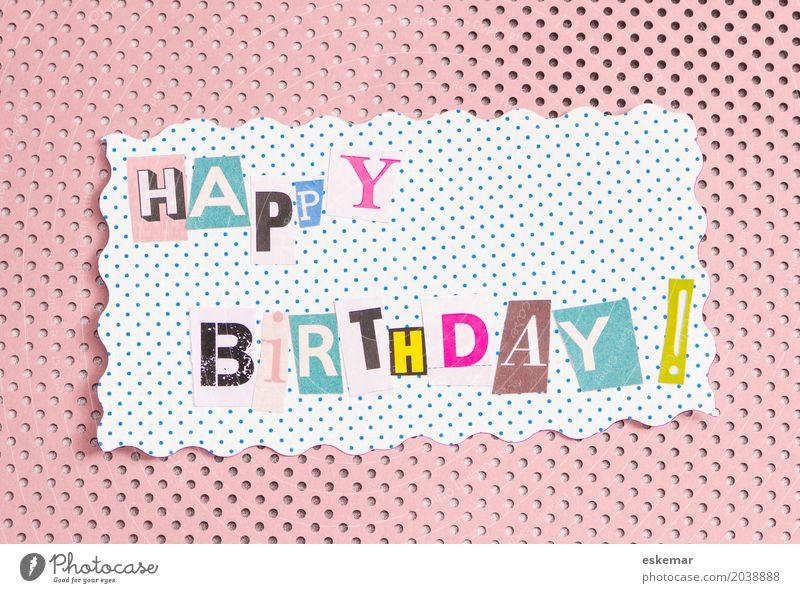 Happy Birthday Dekoration & Verzierung Feste & Feiern Geburtstag Party Glückwünsche Herzlichen Glückwunsch Geburtstagswunsch Geburtstagskarte Fröhlichkeit oben