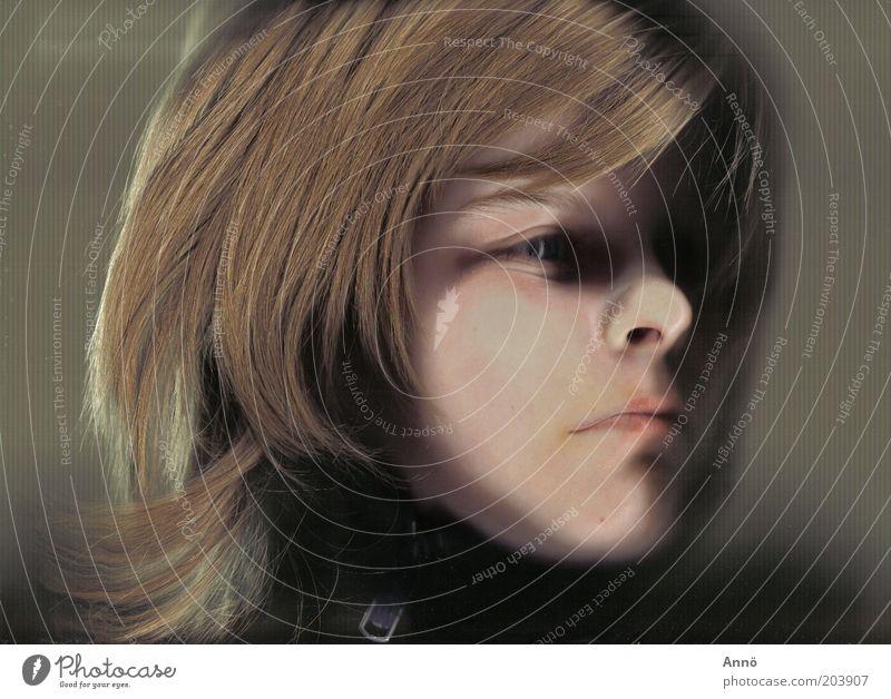 Denkpause Gesicht Auge feminin Gefühle Haare & Frisuren blond Verzweiflung brünett Mensch Porträt
