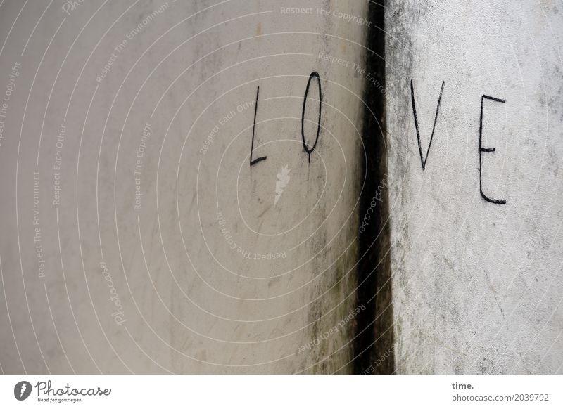 Lebenselixir | in jeder Ecke Mauer Wand Zeichen Schriftzeichen Graffiti trashig Sicherheit Schutz Zusammensein Liebe Verliebtheit Romantik Design Freundschaft